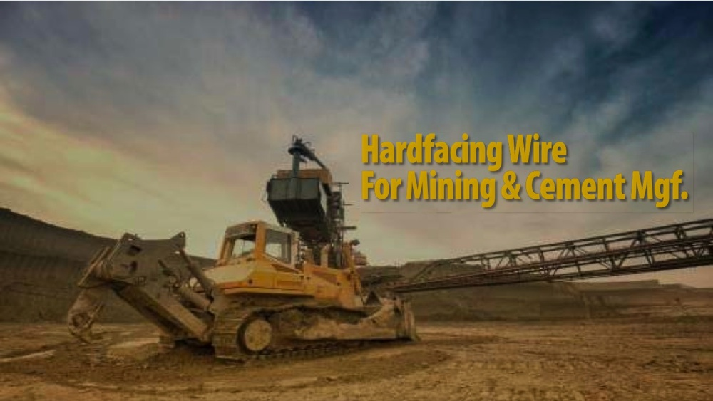 1000 x 563 Hardfacing Wire For Mining & Cement Mgf Introduction